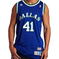 Nba Men'S Dallas Mavericks Dirk Nowitzki Retired Player Swingman Jersey (Blue, Xx-Large)