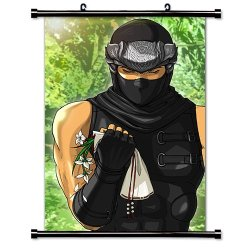 "Ninja Gaiden Videogame Fabric Wall Scroll Poster (32"" X 49"") Inches"