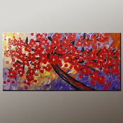 Original Painting Oil Painting Modern Art Canvas Art Impasto Texture Palette Knife Oil Painting Impressionism Wall Art Artwork For Home Decor