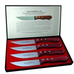 Amazingribs.Com Professional Steak Knives (Set Of 4)