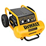 DEWALT D55146 4 1/2 Gallon 200 PSI Hand Carry Compressor with Wheels
