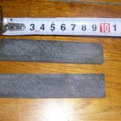 60 Pcs Buffalo Horn Scales For Making Insert Horn Nocks Or Handles Knives Etc