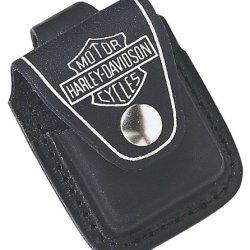 Zippo Lighter Pouch (Black, 3.50 X 2.50 X 2 Cm)