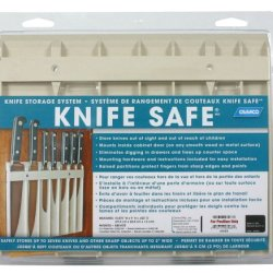 "Camco 43583 Knife Safe (9"" X 11"", Beige)"