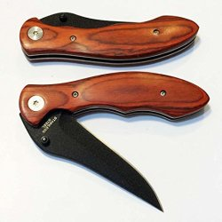 Pocket Knife , Hunting Knife , Folding Knife With Rosewood Handle