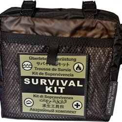 Survival Metrics Pro Survival Kit Pouch, Black Pskp-T