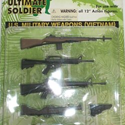 "Ultimate Soldier Us Military Weapons Vietnam Set For 12"" Action Figures"