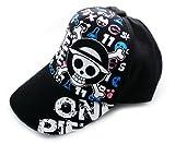 Anime One Piece Baseball Cap Hat Men's and Women's Peaked Cap,luffy B