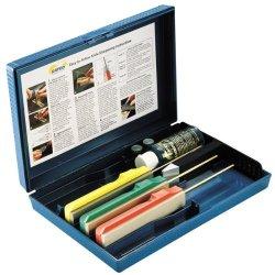 Gatco Sharpeners Edgemate Knife Sharpening System, Coarse/Medium/Fine
