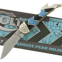 Colt Turquoise Peak Small Leg Knife Kc-023-1 Turquoise Peak