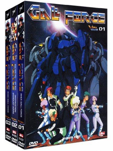 ガルフォース 4作品 DVDセット (281分) アニメ [DVD] [Import] [PAL, 再生環境をご確認ください]