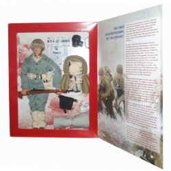 "Gi Joe D-Day Salute Big Red One 12"" Action Figure (Caucasian Version)"