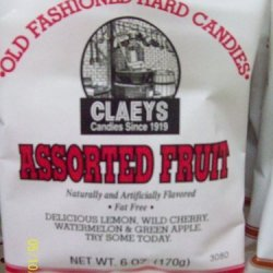 Claey'S Assorted Fruit Hard Candy 6Oz (Single Bag)