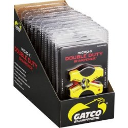 Gatco Sharpeners Double Duty Micro-X Carbide Knife Sharpener 12 Pack 6412