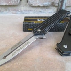"""Tac Force Assisted Opening Folding Joker """"Why So Serious? Knife"""