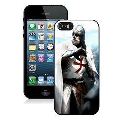 Diy Assassins Creed Desmond Miles Guard Helmets Knife Fist Attack Iphone 5 5S 5Th Black Phone Case