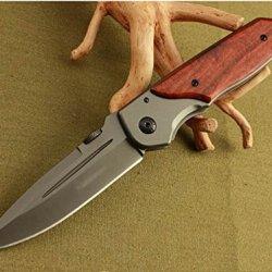 Black Executive Series Speedster Opening Hardwood Strap Holder Knife Blnda30-8.58''