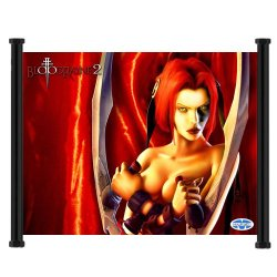 """Bloodrayne Game Fabric Wall Scroll Poster (21""""X16"""") Inches"""