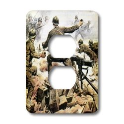 Lsp_82153_6 Danita Delimont - Wwi - Wwi, Italian Troops, Italy - Eu16 Pri0094 - Prisma - Light Switch Covers - 2 Plug Outlet Cover