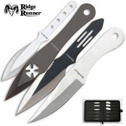 24 Pc. Ridge Runner Throwing Knives Set