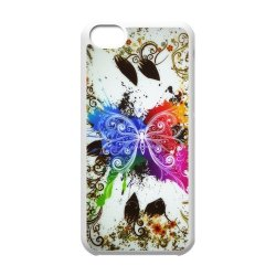 Generic Mobile Phone Cases Cover For Iphone 5C Case Fashionable Art Designed With Beautiful Butterfly Personalized Shell Cell Phone Protect Skin