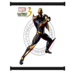 Marvel Vs Capcom 3 Nova Game Fabric Wall Scroll Poster (16X17) Inches