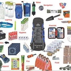 Family Emergency Kit Bag / Bug Out Bag / Survival Kit / Earthquake Kit