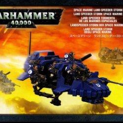 Space Marine Land Speeder Storm Warhammer 40K