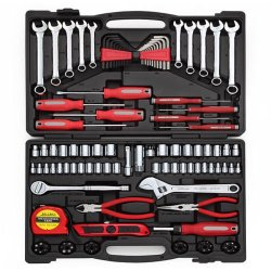 Siam Circus Turning Point Professional 139-Piece Home Tool Set