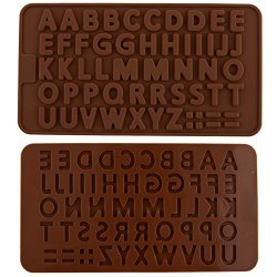 {Factory Direct Sale} Letter Alphabet Pattern 3D Silicone Fondant Cake Cookie Topper Decoration Mold Soap Ice Chocolate Clay Mould Kitchen Baking Diy Craft