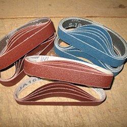 Econaway Abrasives 3/4X12 Coarse Grit Thirty Piece Belt Assortment