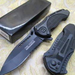 Tac-Force Assisted Opening Linerlock Camo A/O Speed Rescue Knife