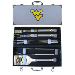 Ncaa West Virginia Mountaineers 8 Piece Bbq Set
