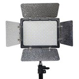 Bolayu-300-LED-Video-Light-18W-2350LM-Dimmable-For-Canon-EOS-Nikon-DSLR-Camera-PS7A