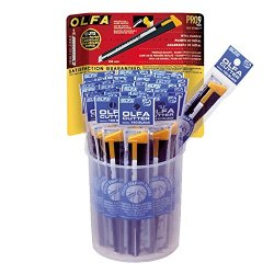 Olfa 1066506 Plastic Bucket Cutter, 36 Piece