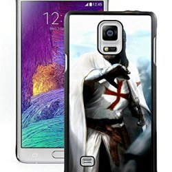 Diy Assassins Creed Desmond Miles Guard Helmets Knife Fist Attacksamsung Galaxy Note 4Black Phone Case