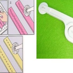 Sany58520 Different Patterns Cookies Wheel Knife Baking Diy Tools