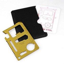 Saw Blade Bronze Mini Multi-Function Tool Card Multipurpose Pocket Survival Tool