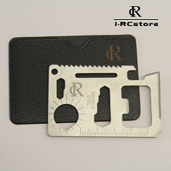 Rc Function Credit Card Size Survival Pocket Tool Kit/Multitool/Keychain Tool Set,Set Of 5