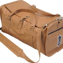 Levy'S Leathers Al304 Leather Travel Bag (Tan)