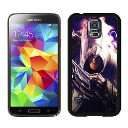 Diy Assassins Creed Desmond Miles Graphics Knife Hand Samsung Galaxy S5 I9500 Black Phone Case