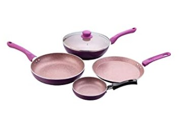 Wonderchef Royal Velvet Induction Base Cookware Set, 4-Pieces
