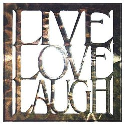 Next Innovations Wa216Livelovelaugh 16-Inch By 16-Inch Live Love Laugh Art2 Wall Art