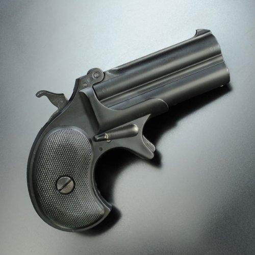 ガスガン デリンジャー バリュースペック 8mmBB ブラックABSモデル (18歳以上推奨)
