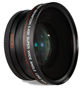 HDStars-58MM-043x-Wide-Angle-Conversion-Lens-with-Macro-Close-Up-Attachment-for-Canon-Digital-SLR-Cameras