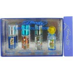 Christian Audigier Mini Set (Ed Hardy Love And Luck, Ed Hardy Hearts Daggers, Born Wild And Ed Hardy Villain)