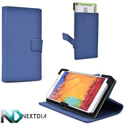 Blue Koi Hard Case Fits Doogee Dagger Dg550 |Universal Fit With Stand Function + Nd Cable Wrap