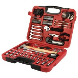 Wilmar Performance Tool Wilmar W1532 107-Piece Home & Auto Tool Set