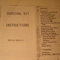 Booklet: The Global Survival Kit, Sk-Na- 2