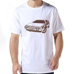 Generic Auto Delorean Mens T-Shirt